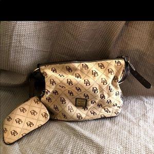 Brown Dooney and Bourke Hobo Bag